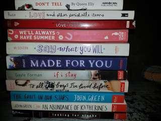Pre loved books
