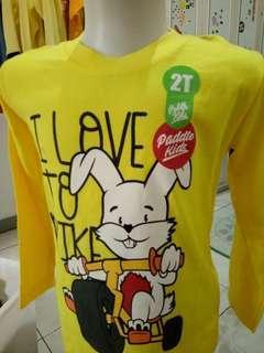 T Shirt Balita Usia 2-3 Tahun