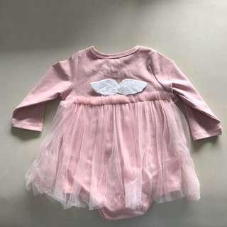 🚚 Baby Girl Wing Dress