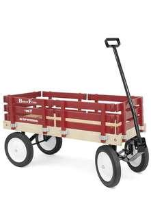 🚚 Berlin F310 Amish-Made Flyer Ride-On Wagon Red