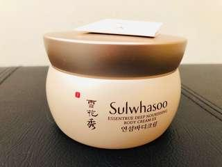 Sulwhasoo雪花秀body cream 200ml