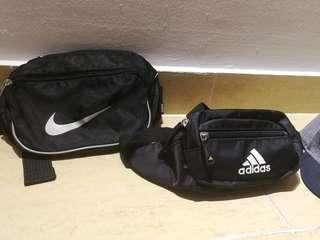 Nike Pouch Adidas pouch