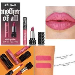 Kat Von D Mother of All mini lipstick duo