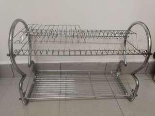 Dish drainer stainless steel