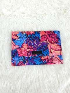 Flower sateen Clutch