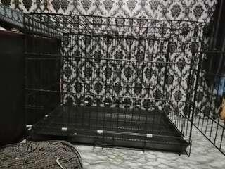 Dog cage / pet crate collapsible