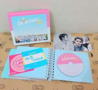 Album Only Seventeen Repackaged Love Letter (Aju Nice)