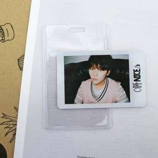 Boo Seungkwan Official Photocard from Repackaced Love Letter Album (Aju Nice)