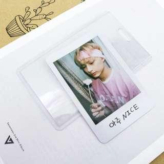 Jun Official Photocard from Repackaged Album Love Letter / Aju Nice