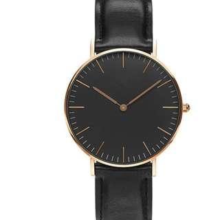 全新簡約石英帆布手錶 男女款