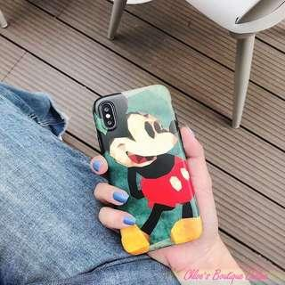 IN-STOCK IN0036-41 Mickey Mouse Series Soft Back Case
