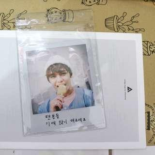 Vernon / Hansol Official Big Polaroid Photocard from Repackaged Love Letter / Aju Nice