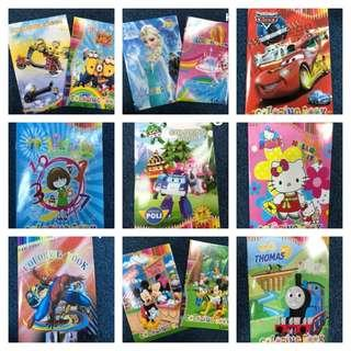 Kids Cartoon Colouring Book A5
