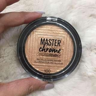 Master Chrome Maybelline highlighter