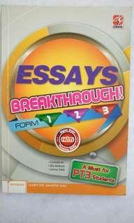#SparkJoyChallenge PT3 English Essays Breakthrough Form 1, 2, 3 Cerdik