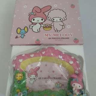 My Melody picture frame