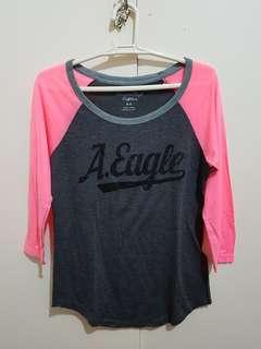 Authentic American Eagle shirt, 3/4 sleeves
