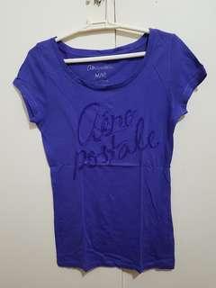 Authentic Aeropostale purple shirt
