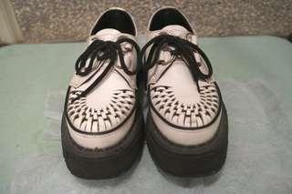 🚚 GeorgeCox/Chaos Punk 編織龐克厚底鞋