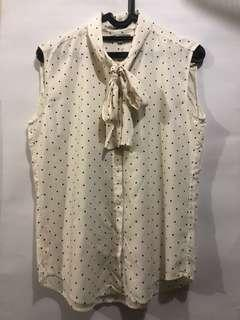 Uniqlo shirt silk