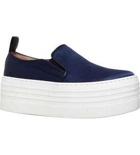 Kurt Geiger Logan Satin Flatform shoes