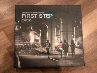 CNBLUE VOL. 1 - First Step ( limited edition)