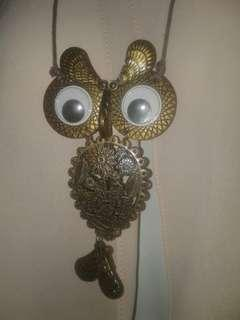 Owl Necklace #1