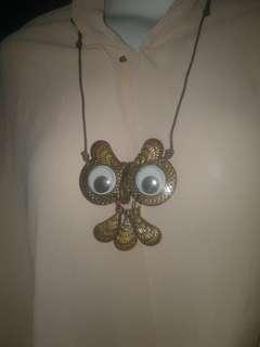 Owl Necklace #2