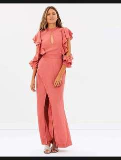 S/W/F Cicely Dress XS Coral
