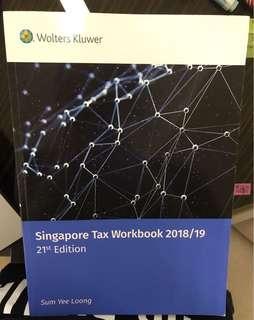 Singapore Tax Workbook 2018/19