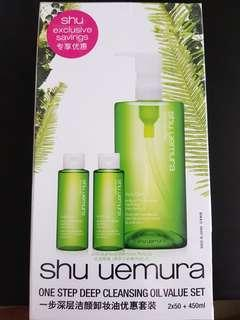 Shu Uemura One Step Deep Cleansing Oil Value Set