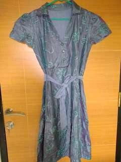 (Preloved) Dress cantik (Kode:046)