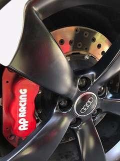 AP Racing Big Brake Kit 6pot for Audi B8 A5 with Crossdrilled Rotors