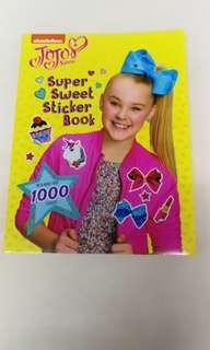 JoJo Siwa sticker book
