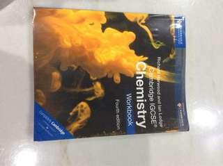 Cambridge IGCSE Chemistry Workbook Fourth Edition