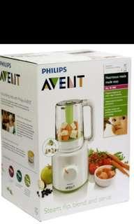 Philips Avent All-in-1 Baby Combined Steamer & Blender SCF870/21, avent