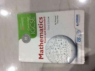 Cambridge IGCSE Mathematics Core and Extended Third Edition