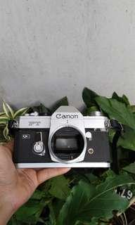 Canon FT ql body only kamera analog