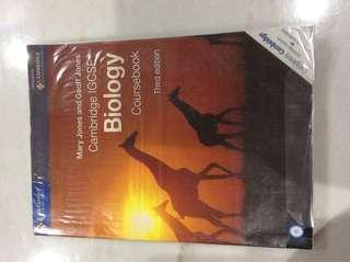 Cambridge IGCSE Biology Coursebook Third Edition +Free Workbook