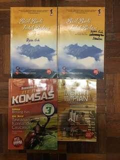 Malay Novel Komsas Antologi Books
