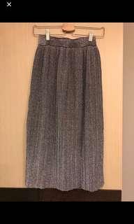 金蔥百摺裙