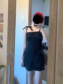Forever 21 Pure Linen Button Down Dress