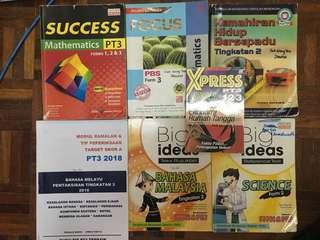 PT3 Reference Books ( Maths, Science, Malay & KHB )