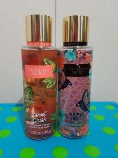 Bundle of 2, Free Shipping, Brandnew - Authentic Victoria Secret fragrance mist