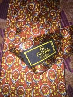 Fendi Necktie Made in Italy