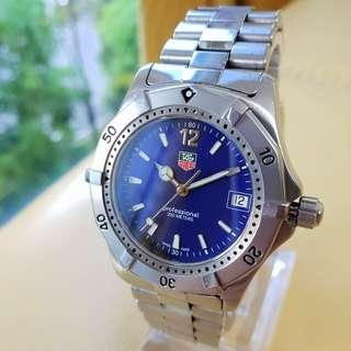 Tag Heuer Boy/Size Navy Blue Dial SS Quartz