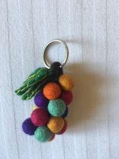 🚚 手工羊毛氈鑰匙圈