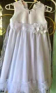 Graduation White Dress