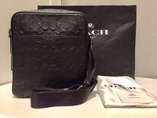 AUTHENTIC BLACK COACH MESSENGER BAG LIKE NEW