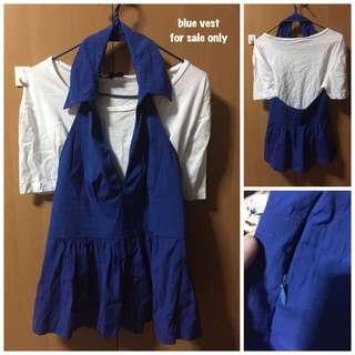 🚚 Show Girl Blue Vest